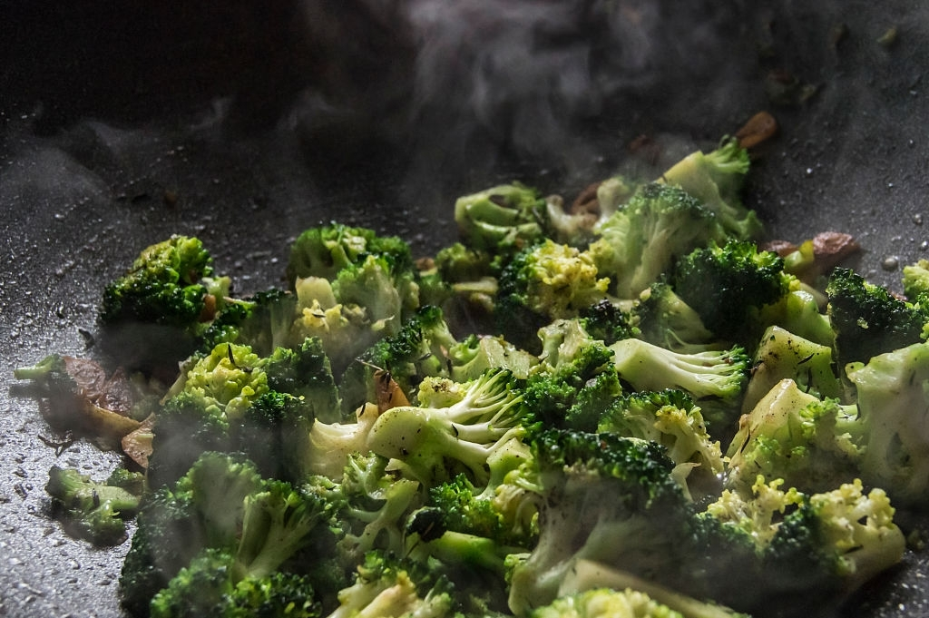 The lifespan of the cooked broccoli