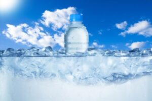 How long does it actually take to freeze water in a water bottle
