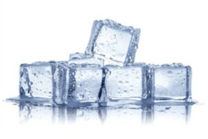 How to turn the water into ice cubes quickly