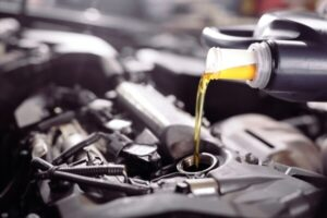 how long does it take to change the oil