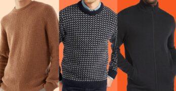 3 Classy Ways to Sport Men's Knitwear