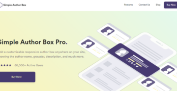 INTRODUCING SIMPLE AUTHOR BOX